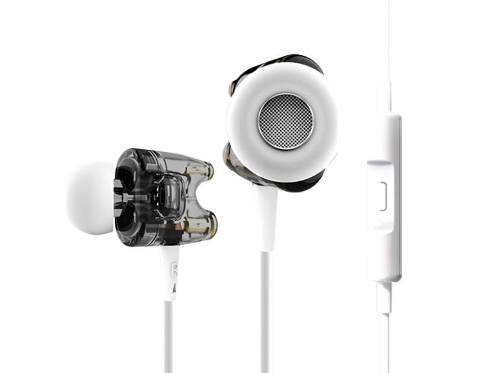 ขาย หูฟัง TTPOD T1S หูฟัง2ไดรเวอร์ยอดนิยมแห่งปี มาพร้อมไมค์และปุ่มรับสาย รองรับ iPhone Android BB และ Windowsphone