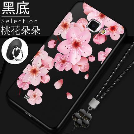 เคส Samsung Note 2 ซิลิโคนแบบนิ่ม สกรีนลายดอกไม้ สวยงามมากพร้อมสายคล้องมือ ราคาถูก (ไม่รวมแหวน)