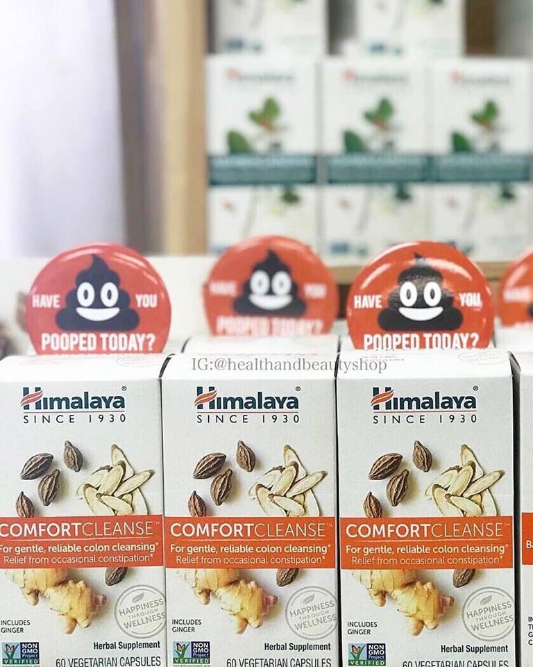 Himalaya, Comfort Cleanse, 60 Vegetarian Capsules