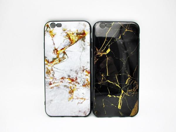 เคส ไอโฟน 6/6s 4.7 นิ้ว IMDนิ่มลายหินอ่อนผิวเงา