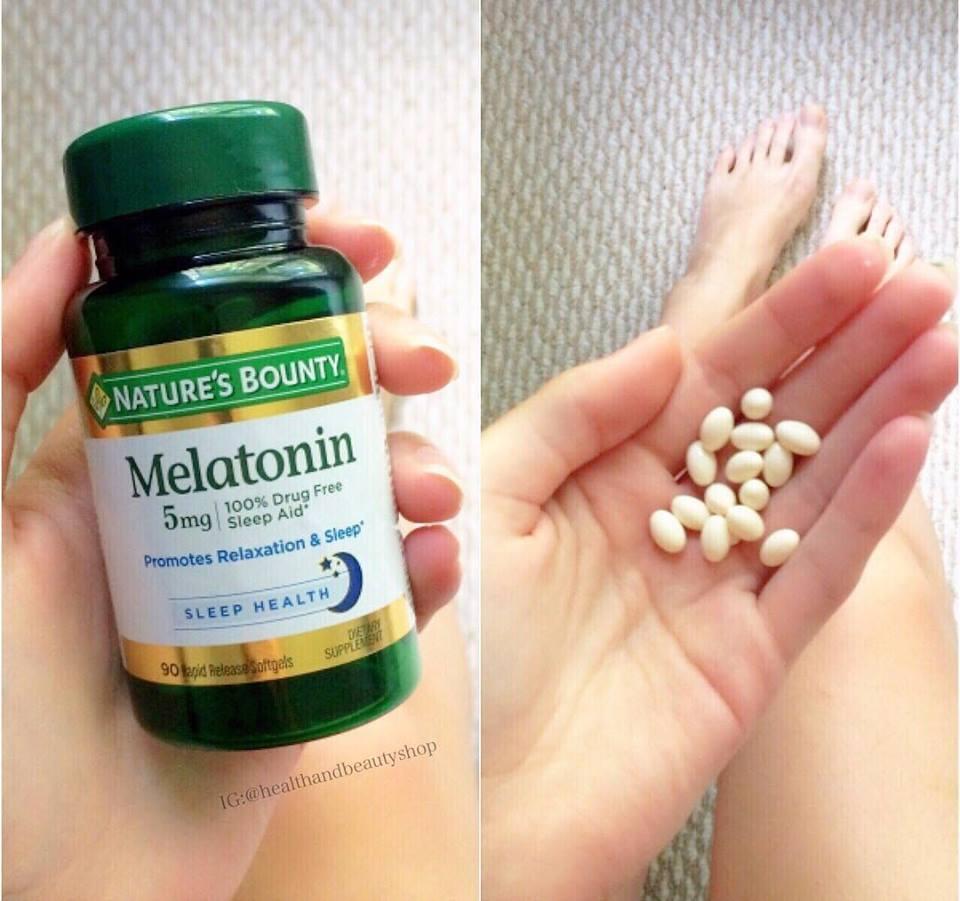 Nature's Bounty, Melatonin, 5 mg, 90 Softgels