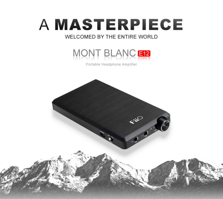 ขาย FiiO E12 Mont Blanc สุดยอดแอมป์พกพาระดับพรีเมี่ยม บาง เบา แต่พลังขับมหาศาลเต็มเปี่ยม