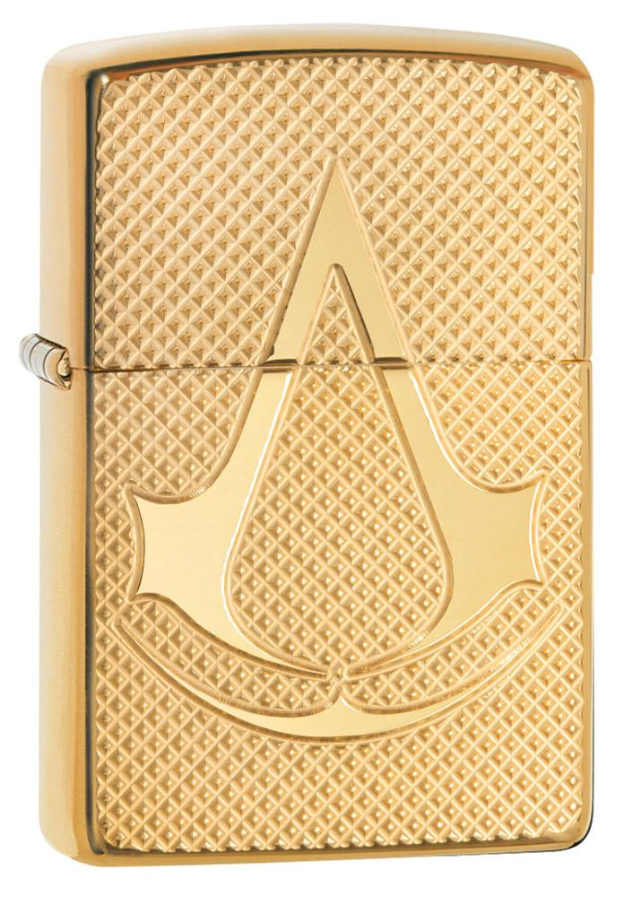 ไฟแช็คซิปโป้แท้ Zippo 29519 Assassin's Creed Armor Case Brass ของแท้ 100%