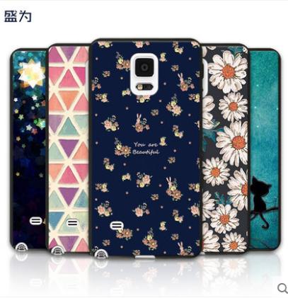 เคส Samsung Galaxy Note 4 พลาสติก TPU สกรีนลายกราฟฟิค สวยงาม สุดเท่ ราคาถูก (ไม่รวมสายคล้อง)