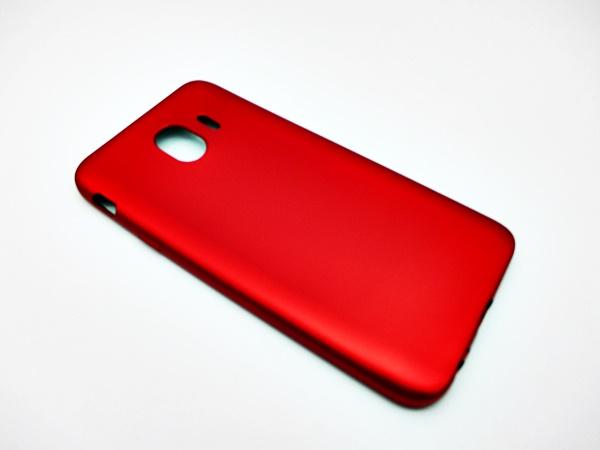 ซัมซุง J4 2018 เคสนิ่มสีแดงพิเศษเนื้อกำมะหยี