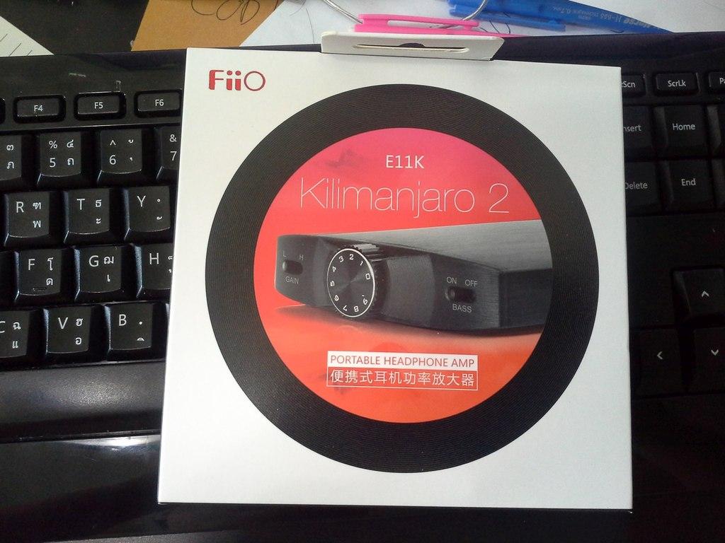 Review : รีวิวแกะกล่อง FiiO E11K Kilimanjaro2 แอมป์พกพาขับแรงแต่ราคาจิ๋วๆ