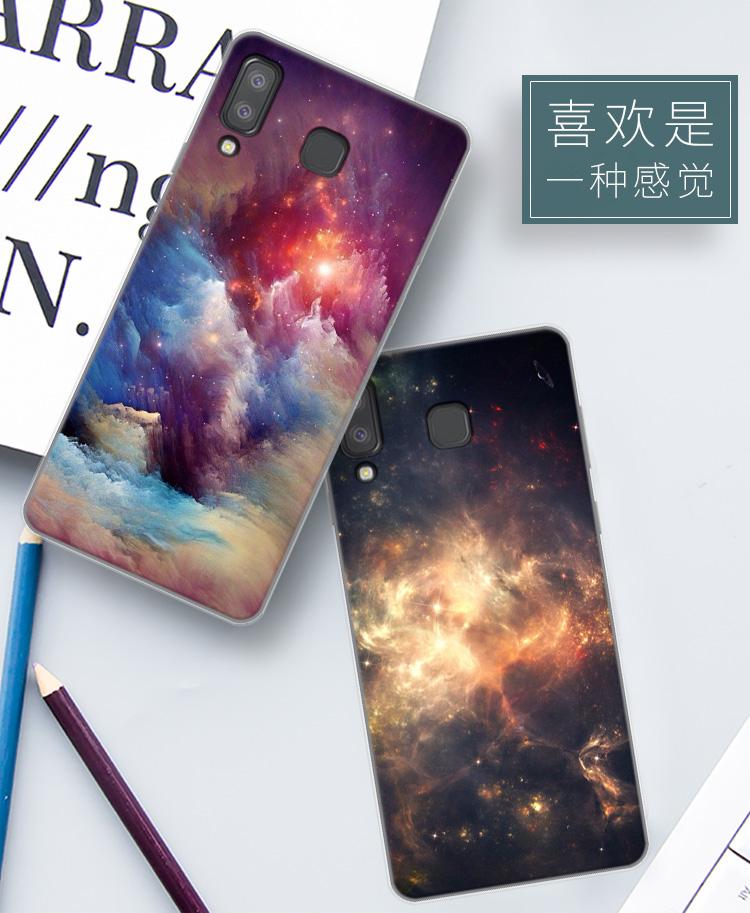 เคส Samsung A8 Star ซิลิโคนสกรีนลายกราฟฟิคสวยมาก ราคาถูก