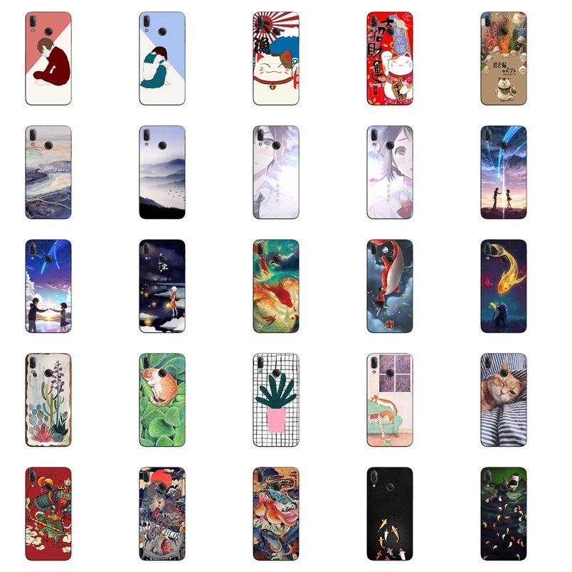 เคส Huawei Nova 3i เคสซิลิโคน นิ่ม ลายการ์ตูนน่ารัก เท่ๆ อาร์ตๆ สวยๆ Cartoon Silicone TPU Case Huawei Nova 3i