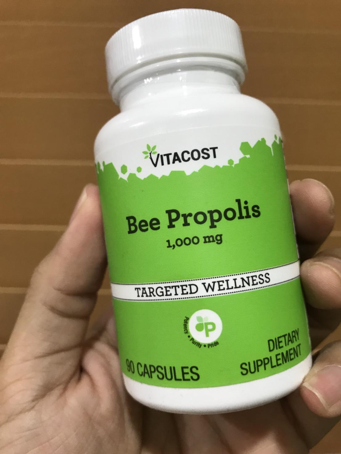Vitacost Bee Propolis -- 1000 mg - 90 Capsules