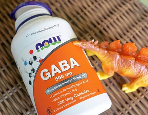 # ความจำ # Now Foods, GABA, Natural Calming Effect, 200 Capsules