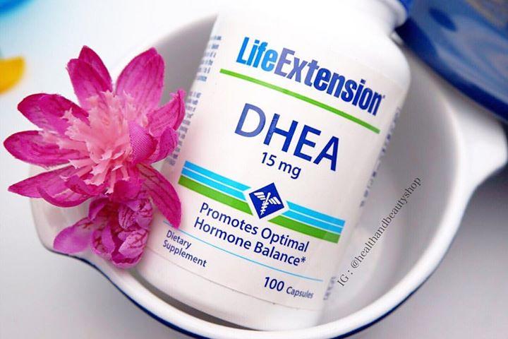 # ไม่อยากแก่ # Life Extension, DHEA, 15 mg, 100 Capsules