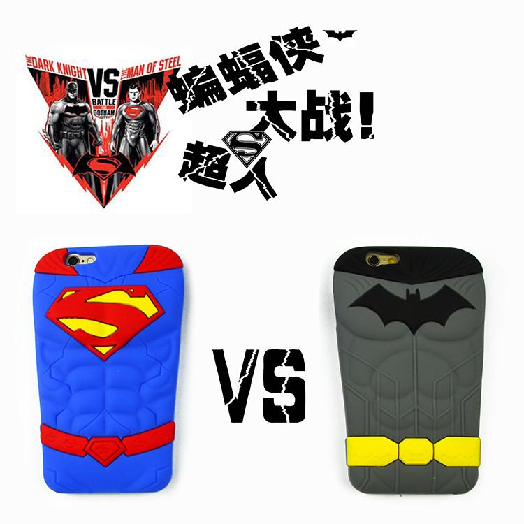 เคส 3D Batman ปะทะ Superman ไอโฟน 6/6s 4.7 นิ้ว