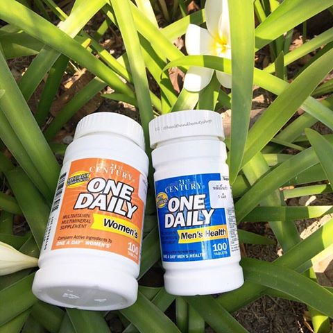 21st Century Health Care, One Daily, Men's Health, 100 Tablets