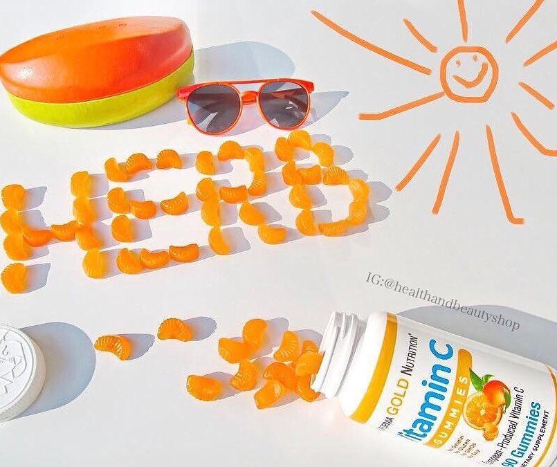 California Gold Nutrition, CGN, Vitamin C Gummies, No GMOs, Gluten Free, 90 Gummies