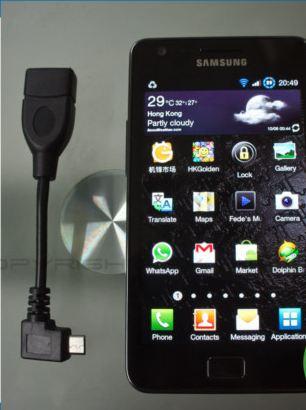 สาย ต่อ USB เข้ามือถือให้เล่นผ่าน USB บนมือถือได้