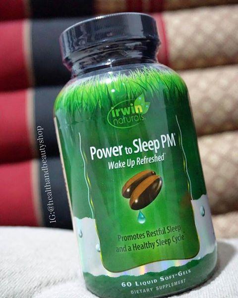 # ช่วยให้นอนหลับดีขึ้น #Irwin Naturals, Power to Sleep PM, 60 Liquid Soft-Gels