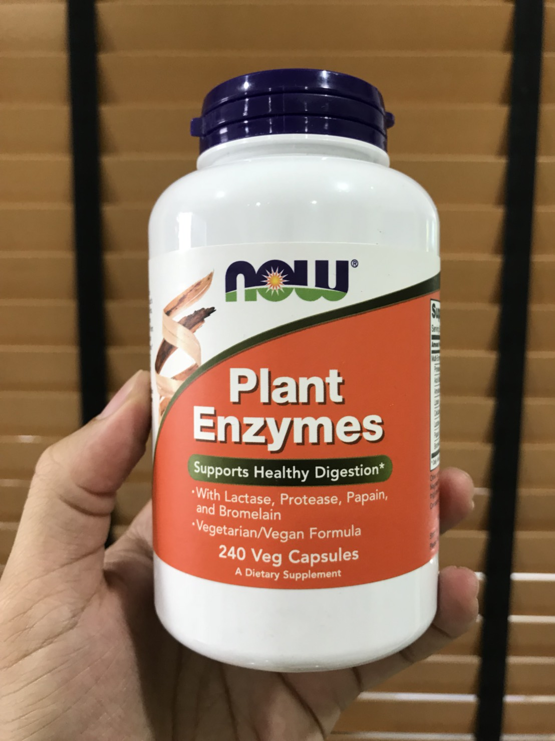 Now Foods, Plant Enzymes, 240 Veg Capsules