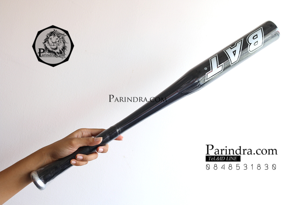 ไม้เบสบอลแบบเบา ขนาด 28 นิ้ว อุปกรณ์ออกกำลังกาย และ ป้องกันตัวในเวลาเดียวกัน สีดำ