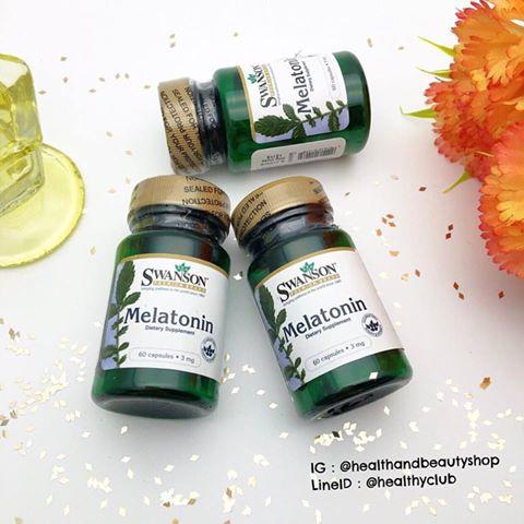 Swanson Melatonin 3 mg Caps