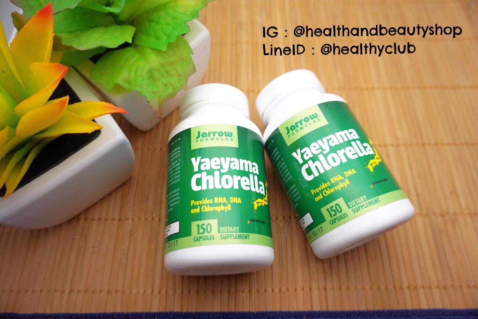 # คืนความสาว # Jarrow Formulas, Yaeyama Chlorella, 400 mg, 150 Capsules