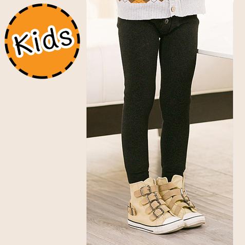 [ไซส์เด็ก] K7888 เลกกิ้งกันบุขนกันหนาว สำหรับเด็กชาย กันหนาวได้ถึงติดลบ