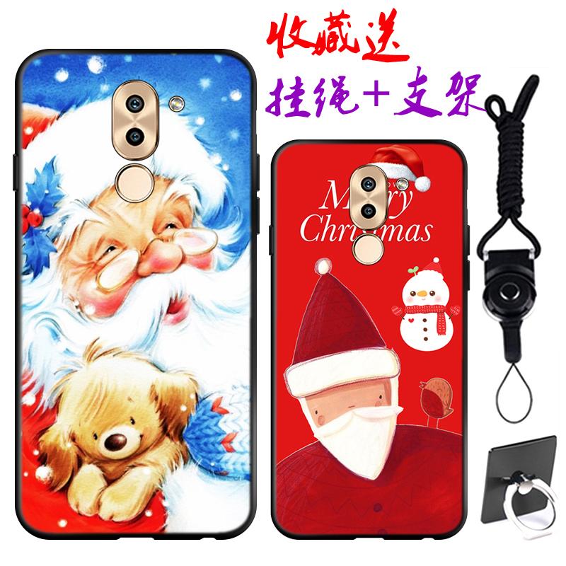 เคส Huawei GR5 (2017) พลาสติก TPU สกรีนลายคริสมาสต์ ราคาถูก (สายคล้องและแหวนแล้วแต่ร้านทางจีนจะแถมมาหรือไม่นะครับ)