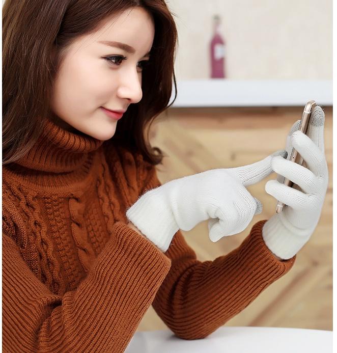 [พร้อมส่ง] G7420 ถุงมือแบบห้านิ้ว 2in1 จะใส่คู่ ใส่เดี่ยว หรือจะทำเป็นนิ้วมือแบบนิ้วโผล่ย่อมได้ คุ้มจริงๆ