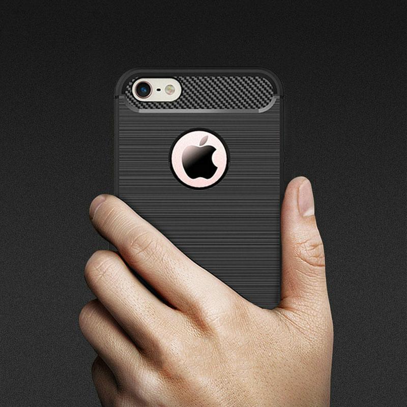 เคส ไอโฟน 6/6s 4.7 นิ้วTpu คาร์บอนไฟเบอร์(ใช้ภาพรุ่นอื่นแทน)