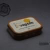 กล่องเหล็ก Strepsils รุ่นเก่า สีน้ำตาลอ่อน ปี 1988 #S445