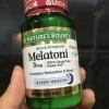 #อาหารเสริมนอนน้อย# Nature's Bounty, Triple Strength Melatonin, 3 mg, 240 Tablets
