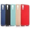 เคส Huawei P20 พลาสติกสีพื้นคลาสสิคสวยมาก ราคาถูก