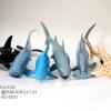 โมเดลสัตว์ทะเล ชุด Ocean World กลุ่มปลาฉลามหลากหลายสายพันธุ์