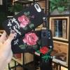 เคส ไอโฟน 7 4.7นิ้ว tpuดอกกุหลาบพิมพ์เส้นนูนพร้อมสายคล้อง