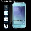 SAMSUNG Galaxy J1 2016 ฟิล์มกระจกนิรภัยป้องกันหน้าจอ 9H Tempered Glass 2.5D (ขอบโค้งมน) HD Anti-fingerprint