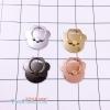 แหวนโลหะเคลือบสีเมทัลลิคดอกไม้น่ารักมากๆ ราคาถูก