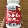 # สุดยอด nac # Jarrow Formulas, N-A-C Sustain, N-Acetyl-L-Cysteine, 600 mg, 100 Bilayer Tablets