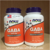 Now Foods, GABA, 500 mg, 100 Capsules