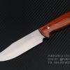 มีดใบตาย BUCK สันหนา ด้ามไม้ 440C Steel Blade Camping A20 (OEM)