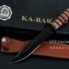 มีดเดินป่าใบตาย KA-BAR ใบตายสีดำ (OEM)