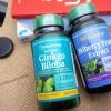 # สมอง # Puritan's Pride Ginkgo Biloba 120 mg 100 Capsules