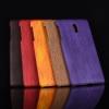 เคส Nokia 3 พลาสติกแบบแข็งทำเลียนแบบลายไม้สวยมาก ราคาถูก