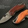มีดพับ Buck Knives X48 ด้ามไม้ (OEM)