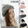[พร้อมส่ง] H6499 หมวกไหมพรมกันหนาว สไตล์เกาหลี ทรงแหลมแบบ Wizard เก๋ๆ