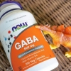 # กังวลก่อนนอน # Now Foods, GABA, Natural Calming Effect, 200 Capsules