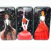 ไอโฟน 5/5se/5s เคสกากเพชรพิมพ์นูน4 มิติลายเจ้าหญิง