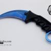 มีดคารัมบิต (Karambit) Honshu (OEM) ใบสีน้ำเงิน คมกริบ