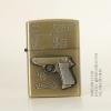 ไฟแช็คน้ำมันลาย ปืนพก Walther PPK 7.65mm .22LR ปี 1931 คลาสสิก