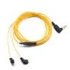 ขาย สายหูฟังชุบเงินถักสำหรับ KZ ZST / ED12 สีทอง