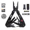 คีมเอนกประสงค์ Multi-Tools Ganzo กานโซ่ รุ่น G302-B สีดำสนิท ของแท้ 100%