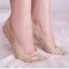 [พร้อมส่ง] S6943 ถุงเท้าลูกไม้ สำหรับใส่กับรองเท้าคัชชู ลายสวยหวาน Sweet Lace